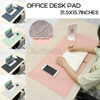 Large Office Computer Desk Mat Table Keyboard Gaming Mouse Pad Laptop-Cushion T