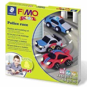 Staedtler   Fimo Kids Form & Play Kits   Police Race