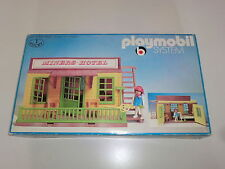 Playmobil Klicky 3426 Mineurs Hotel Maison Western Portes battantes complet