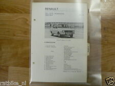 R18-RENAULT 12L,12TL,12 STATIONCAR 1970-1971 -INFO