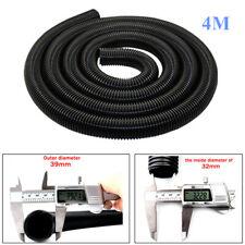 4M Long Vacuum Cleaner Thread Hose/Pipe/Tube Inner Drainage Lengthen 32mm Black
