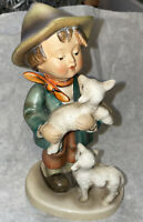 "Large TMK2 Full Bee #64 6"" Shepherd's Boy Figurine Hummel Goebel"