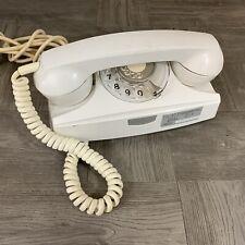 Vintage Rotary Dial Starlight Princess type Telephone White Archer Rare