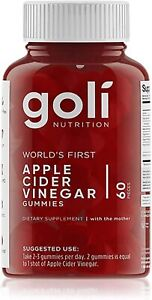 Goli - Nutrition Apple Cider Vinegar 60 Gummies US