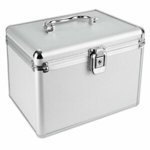 1 Mediarange Aluminium 120 CD DVD DJ storage Flight case numbered sleeves BOX79