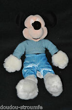 Peluche Doudou Mickey DISNEY DISNEYLAND Paris Snow Boots Gants Bottes 27 Cm TTBE
