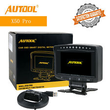 AUTOOL X50 PRO OBD2 Smart Digital Display Meter Overspeed Alarm Engine Monitor