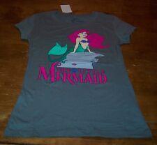 WOMEN'S TEEN Walt Disney THE LITTLE MERMAID ARIEL T-shirt XS NEW w/ TAG