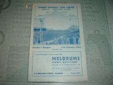 Dundee v Rangers Feb 1961 Scottish Cup