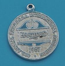 Vintage Barbershop Harmony Society S.P.E.B.S.Q.S.A. Hartford Convention Pendant