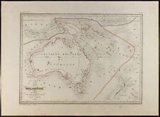 Australia : Carta geografiche antiche del 1846 / Malenesie / Nuova Olanda