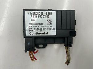 2007 - 2012 MERCEDES C E GLK ML R S - FUEL PUMP CONTROL MODULE A2129000306 OEM