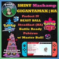 SHINY Gigantamax Alcremie GMax HA 🍰Master Ball✨6IV Pokemon Sword Pokemon Shield