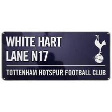 Officiel TOTTENHAM HOTSPUR FC WHITE HART LANE Street Signe Football Bleu