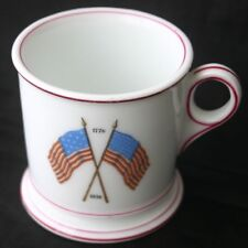 1776 Centennial 1876 Crossed Flags Transferware Mug