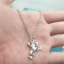 New Frog animal silver Necklace alloy pendant ornament ,creative jewelry
