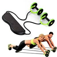 Roller Wheel Abdominal Leg Arm Trainer Wheel Abdominal Resistance Pull Rope Tool