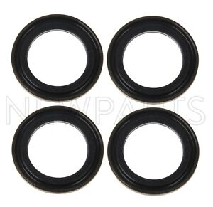 For Set of 4 Engine Oil Pan Seal Gasket for Subaru Baja Forester Legacy Outback