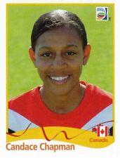 Panini FIFA World Cup 2011 Germany Women Sticker #50 Candace Chapman Canada