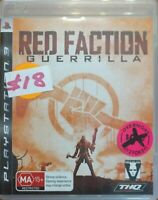 Playstation 3 PS3 Game Red Faction Guerrilla