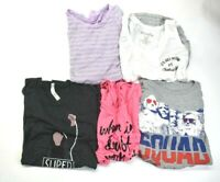 Women's Large Mixed Brands & Styles Tank Tops & T-Shirts Lot of 5