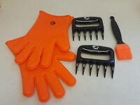 3 x No.1 Set: The No.1 Silicone BBQ /Cooking Gloves Plus The No. (H104949)
