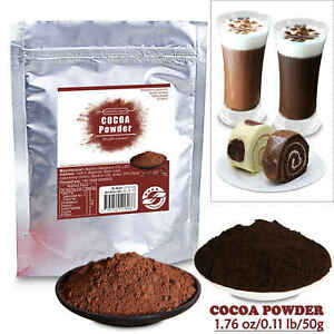 50g Dutch Cocoa Powder Pure Organic Special for Baking Drink Food Alkalized
