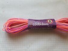 Scoubidous Bänder 20 x 1 Meter verschiedene Rosa-Lilatöne  Neu