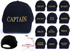 Captain baseball cap cotton Mens  Women Family royal navy cap officers captain