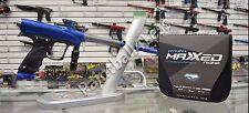 Proto Rize Maxxed PMR Paintball Gun/Marker Blue/Gray (Replace Proto Rail) DYE