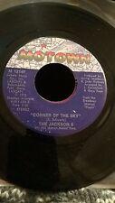 Jackson 5  Michael Jackson- Corner of the Sky / To Know - Motown M1214F US 45
