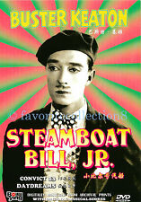 Steamboat Bill, Jr. / Convict 13 / Day Dreams - Buster Keaton - DVD NEW