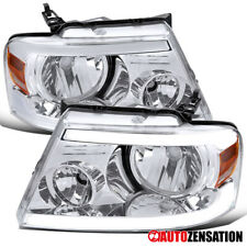 For 2004-2008 Ford F150 2006-2008 Lincoln Mark LT Headlights w/ LED Strips Lamps