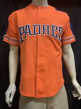 Orange San Diego Padres Jersey Size:M By Starter