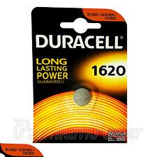 1 x Duracell Lithium Cr1620 3V Coin Cell battery Dl1620 Erc1620 Krc Exp:2025