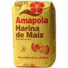 Amapola All Purpose Corn Meal (Harina de Maiz) by Molinos de Puerto Rico - 32 oz
