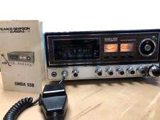 Pearce-Simpson CB radio base Simba SSB, Vintage 1972,manual/mike original AM/SSB