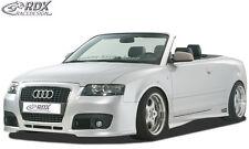 "RDX Paraurti Audi a4 b6 8h Cabrio ""singleframe"" FRONT Grembiule Spoiler Anteriore"