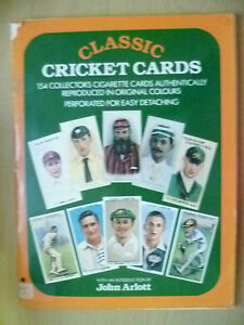 Cricket Card- CLASSIC CRICKET CARDS,154 Collector's Cigarette Card by John Arlot
