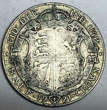 # C2873     GREAT BRITAIN     COIN,    HALF CROWN    1921