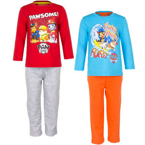 Pyjama Set nightclothes Girl Paw Patrol Red Turquoise Orange 98 104 110 116 #97