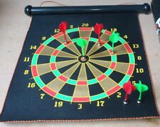 Magnetic Dart Board Dartboard 6 Darts Party Game Toy Playset Kids Childrens