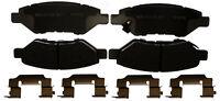 Disc Brake Pad Set-Ceramic Disc Brake Pad Rear ACDelco Advantage 14D1337CHF1