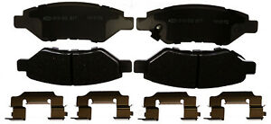 Disc Brake Pad Set-Ceramic Disc Brake Pad Rear ACDelco Advantage 14D1337CHF1