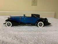 Franklin Mint 1933 Duesenberg J Victoria 1:24 Scale Diecast Car