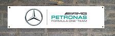 Mercedez Racing enthusiasts PVC Garage, man cave decorative PVC banner