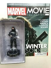 MARVEL MOVIE COLLECTION ISSUE 10 WINTER SOLDIER EAGLEMOSS FIGURINE FIGURE + MAG