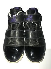 2007 Nike Zoom KOBE II 2 ST STRENGTH ORCA BLACK WHITE PURPLE Size 10.5