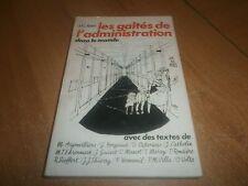 les gaîtés de l administration dans le monde par J.C. Ibert (67)