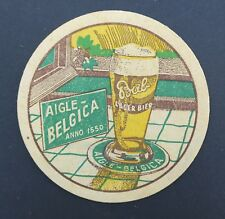 Ancien sous-bock bière AIGLE BELGICA BAB bier Bierdeckel  7
